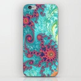 Rainbow Fractal iPhone Skin