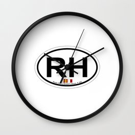 Rock Hall - Maryland. Wall Clock