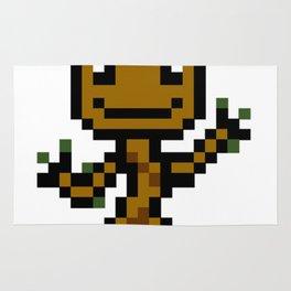 8-bit Dancing plant Rug