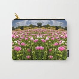 Poppy fields in Holland Carry-All Pouch