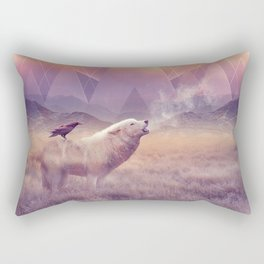 In Search of Solace Rectangular Pillow