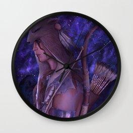 Ratonhnhnhaké:ton Wall Clock