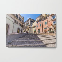 Between The Arches Metal Print