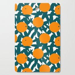 Art Deco Minimalist Orange Grove Cutting Board