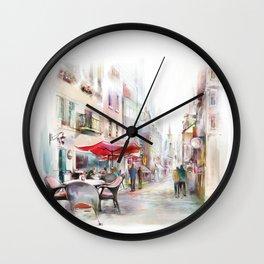 Salzburg2 Wall Clock