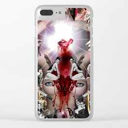 Orgy Clear iPhone Case