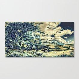 Oriental Touch Canvas Print