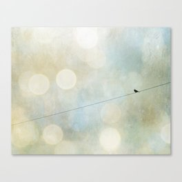 In the Atmosphere Canvas Print