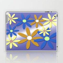 Flowers and flowers Laptop & iPad Skin