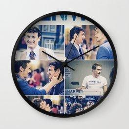 Milk (Movie) Wall Clock