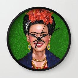 Smile Frida Wall Clock