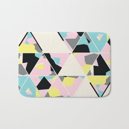 triangle no.3 / with love Bath Mat