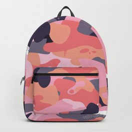 Pink camouflage Backpack