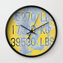 Big Numbers Wall Clock