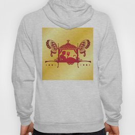Bridal Palanquin India.doli silhouette Hoody