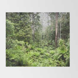 Rainforest Throw Blanket