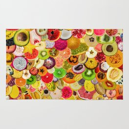 Fruit Madness (All The Fruits) Rug