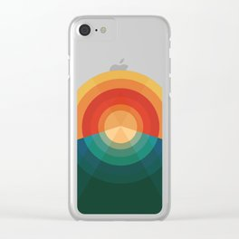 Sonar Clear iPhone Case