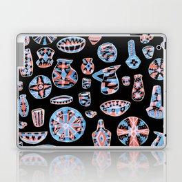 Pastel Neon Pottery on Black Laptop & iPad Skin