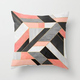Construct 1 Throw Pillow