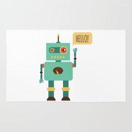 Hello Robot Rug