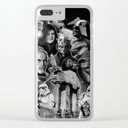 Dark Side StarWars Darth Vader Darth Maul Sith Storm Trooper kylo Dooku Sidious Clear iPhone Case