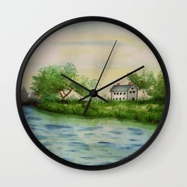 The Lakehouse Wall Clock