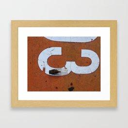 3... Framed Art Print