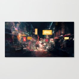 The Closing Hours Canvas Print