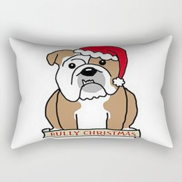 Bully Christmas Rectangular Pillow