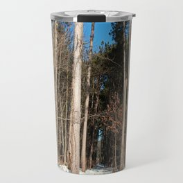 Woods in Winter Travel Mug