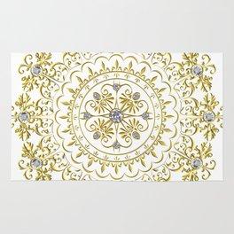 Beautiful Flourish Medallion Rug