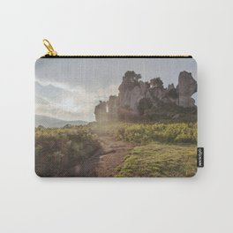 Megalith at sunset Carry-All Pouch
