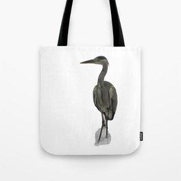 Grey Heron Tote Bag