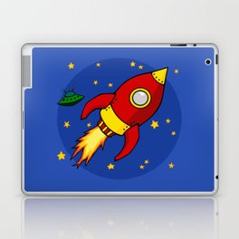 Space Rocket Laptop & iPad Skin