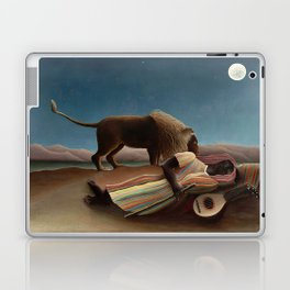 Henri Rousseau - The Sleeping Gypsy Laptop & iPad Skin