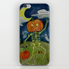 Pumpkin Patch Party iPhone Skin
