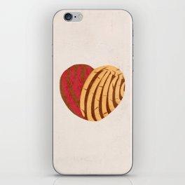 Corazón de Conchas iPhone Skin