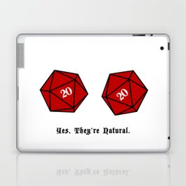 Yes, They're Natural. D20 Laptop & iPad Skin