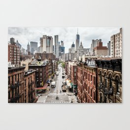 New york City USA Canvas Print
