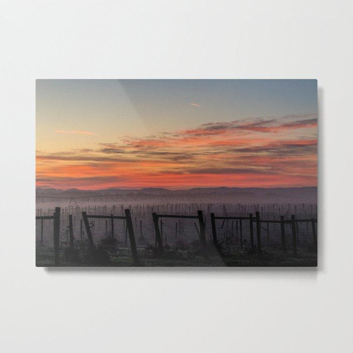 morning sky Metal Print