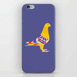 Colombian pigeon iPhone Skin