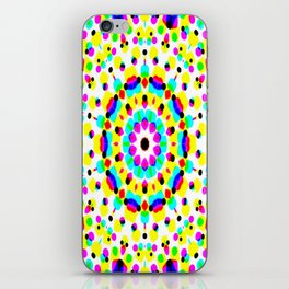 Colorful Dot Fantasy iPhone Skin