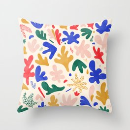 Matissery Throw Pillow