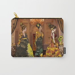 Queen Bees Carry-All Pouch