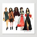 Glam Girls, Pinales Illustrated by pinalesillustrated