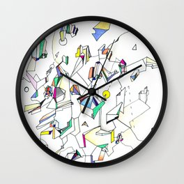 Tumult Wall Clock