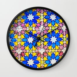 Azulejos - Portuguese tiles Wall Clock