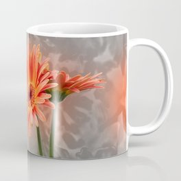 red gerbera daisy in the vase Coffee Mug