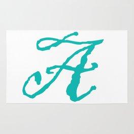 """A"" // Initals // Monograms // Names Rug"